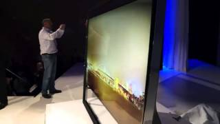 Samsung 85-inch S9 Uhd Tv [hands-on][ces 2013][hd]