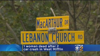 19-Year-Old Woman Dead After West Mifflin Accident