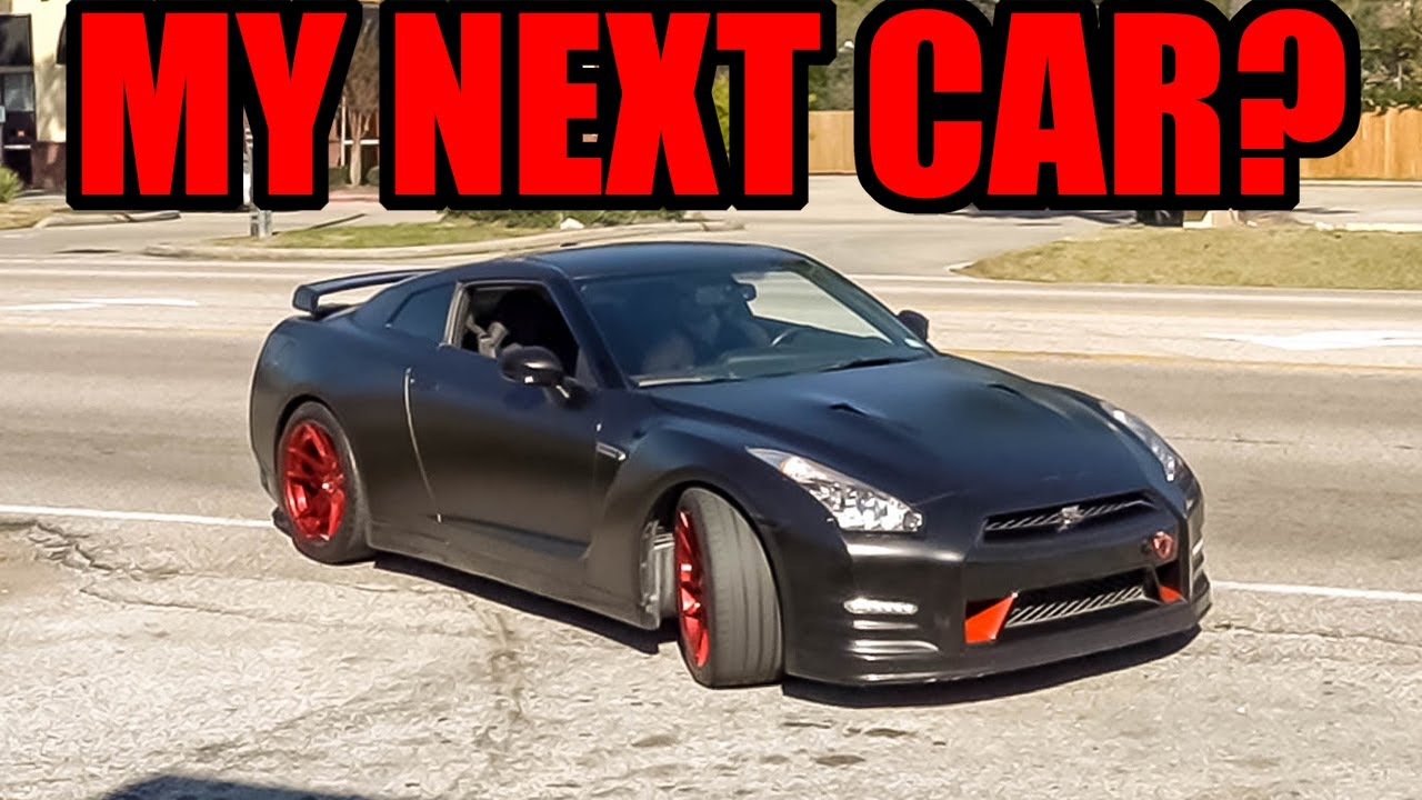 Shopping For My NEW CAR! - Should I Buy a NISSAN GTR?