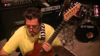 How to play Fantasy by Aldo Nova on guitar by Mike Gross