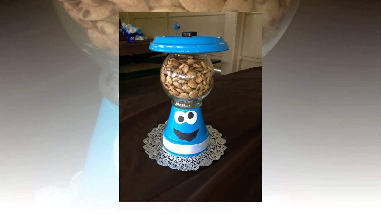 cookie monster baby shower youtube