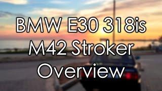 BMW 318is (E30) M42 Stroker