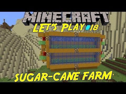 MINECRAFT | SUGAR-CANE FARM | Let's play med SoftisFFS | #18