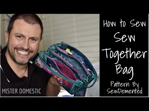 How to Sew SewDemented's Sew Together Bag with Mister Domestic