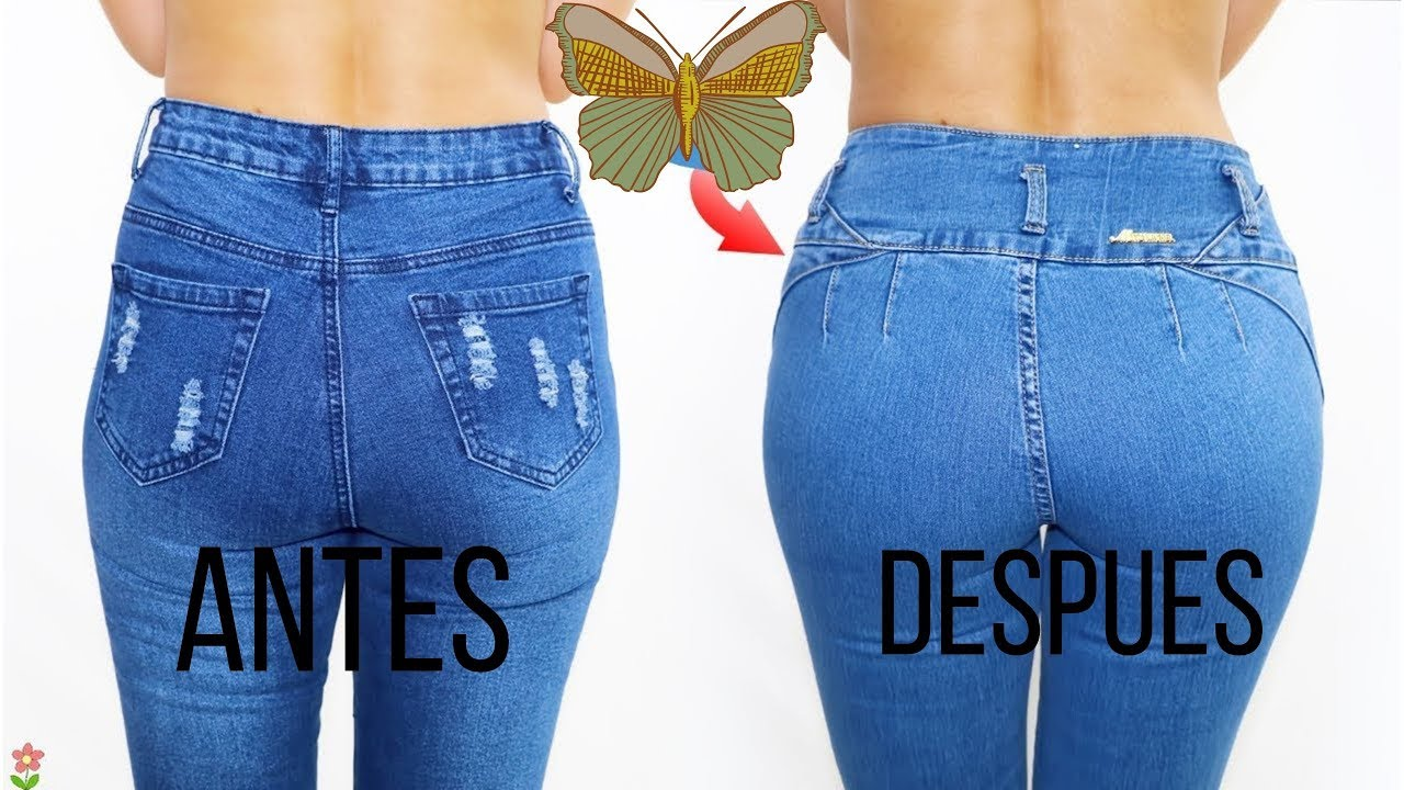 Trucos Para Ajustar El Jeans En Parte Trasera Youtube