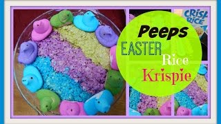 Easter Peeps Rice Krispie Treats