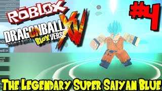 THE LEGENDARY SUPER SAIYAN BLUE! | Roblox: Dragon BloxVerse (Released) - Episode 4