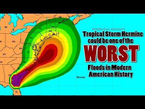 Alert! Atlantic Storm Hermine may cause one of the Worst floods in modern American History