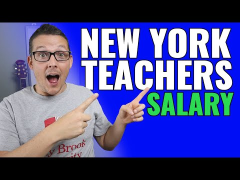 How Much Teachers Get Paid & My NY Salary