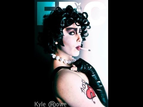 Frank N Furter Makeup Tutorial - Sofia Green