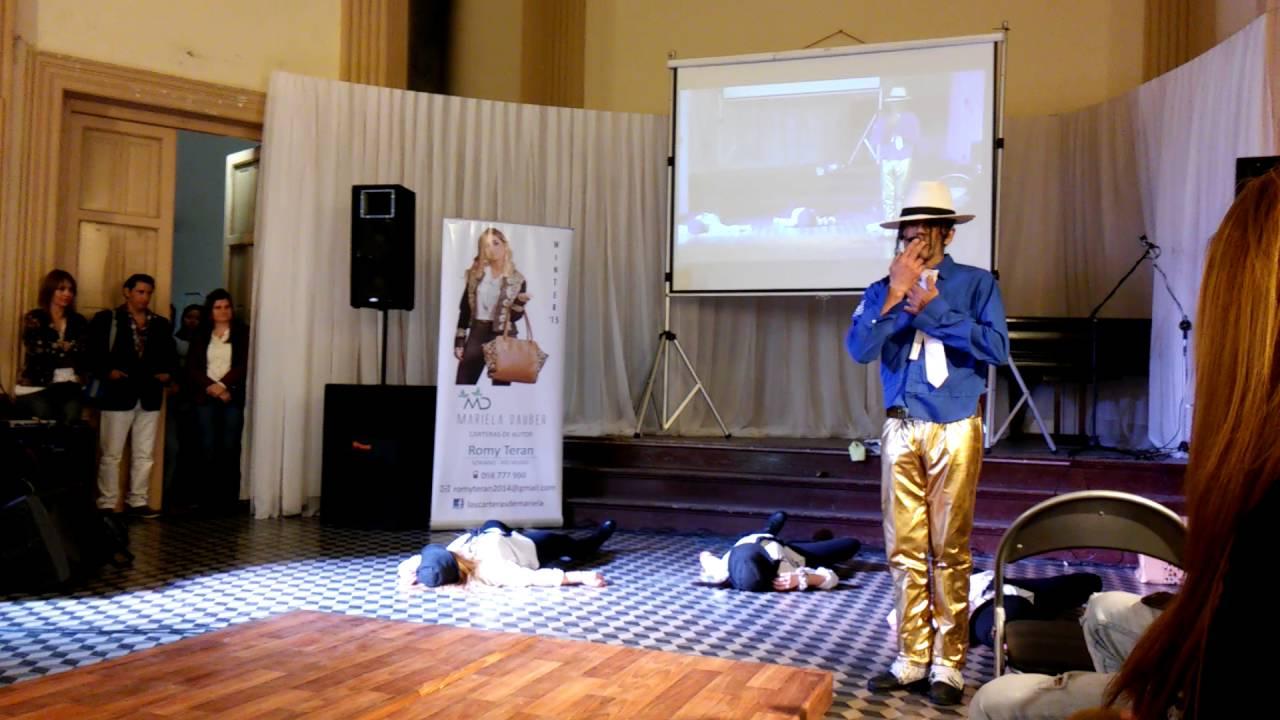 Show de Michael Jackson Uruguay.mercedes - YouTube