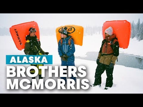 The Preperation Needed To Snowboard Alaska With Travis Rice | Brothers McMorris