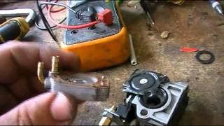 Ремонт мотокосы 36mm Herz (не заводится)