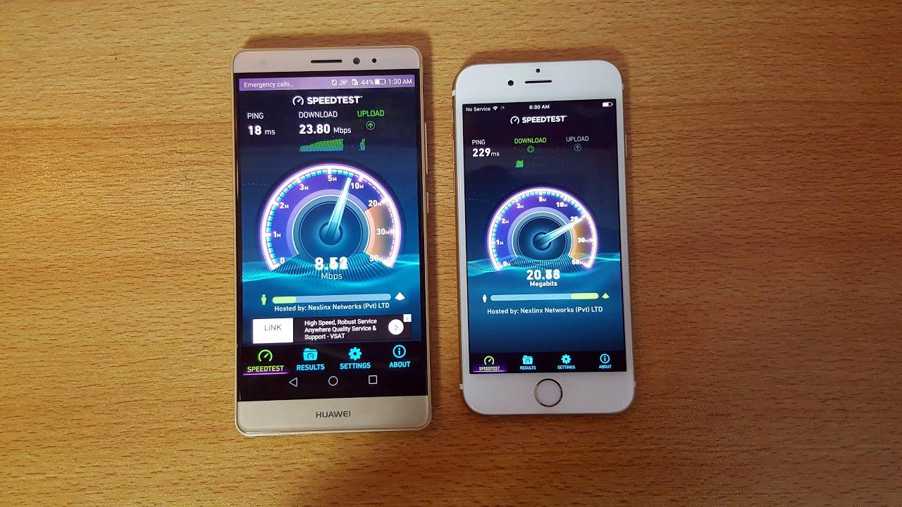 Iphone 6 vs huawei mate 10lite