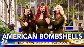 American Bombshells on FOX sing the National Anthem