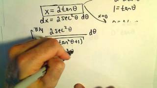 Trigonometric Substitution and a Definite Integral