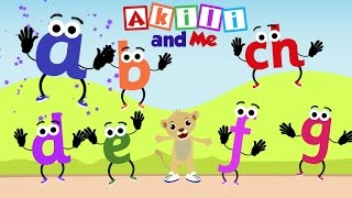 Alphabet and Letter Songs Compilation   35 min. of Phonics Songs from Akili and Me