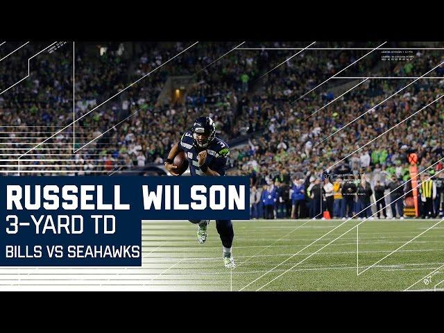 Russell Wilson Hits Doug Baldwin for 50 Yards, Wilson Runs for the TD | Bills vs. Seahawks | NFL