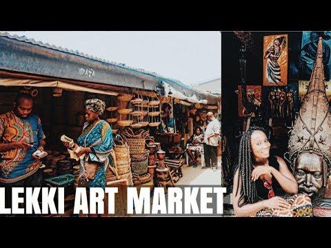 LEKKI ARTS & CRAFT MARKET  || LIFE IN LAGOS EP #13