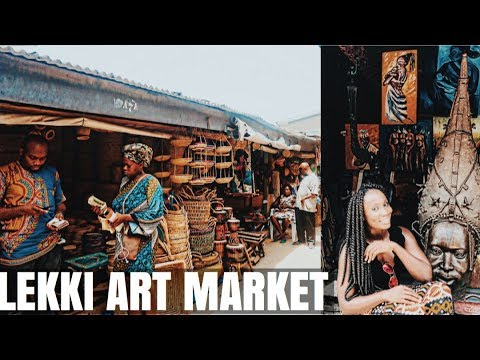 Hidden Gem in Lagos || Lekki Art Market || Nigeria Travel Vlog