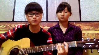 Dệt những yêu thương guitar cover by Ú và Bean