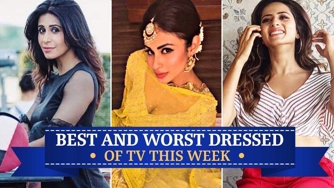 Jennifer Winget, Mouni Roy, Sargun Mehta: TV's Best and Worst Dressed of the Week | Pinkvilla