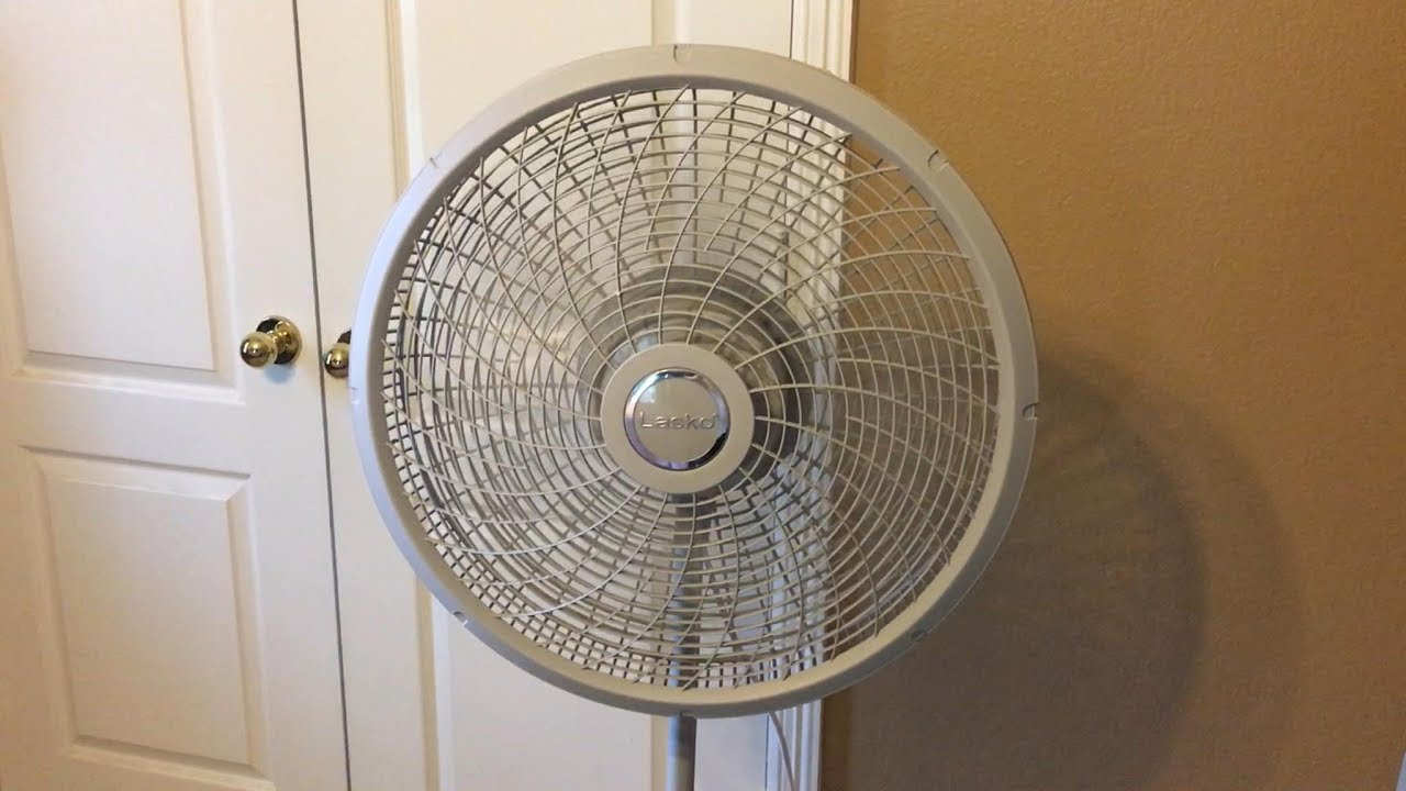 Lasko Cyclone Inch Pedestal Stand Fan Review And Demo Youtube