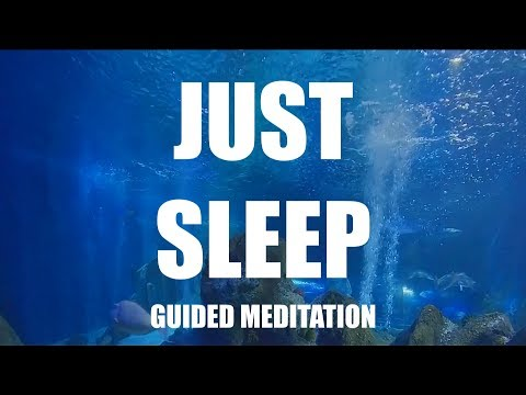 Just Sleep Guided Meditation, CALM Hypnosis For Insomnia