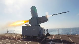 SeaRAM Supersonic Anti-Ship Missile Defense System