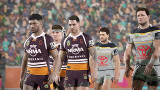 Rugby League Live 4 - Cowboys Career - Round 2