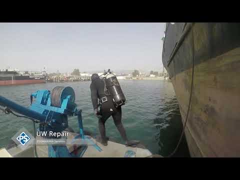 Underwater Propeller Polishing and Underwater Hull Cleaning