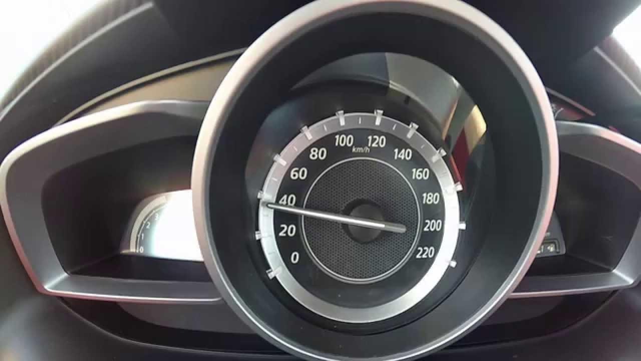 2015 mazda 2 1.5 90 hp acceleration 0-100 - youtube