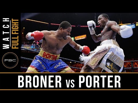 Broner vs Porter FULL FIGHT:  June 20, 2015 - PBC on NBC