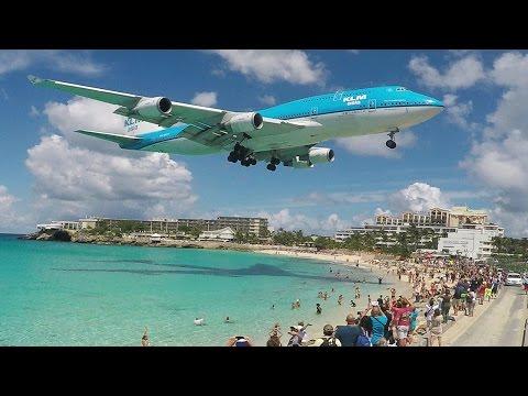 Final BOEING 747 visit to St. Maarten - Good bye KLM B747