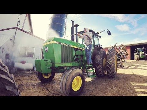 Bathtime! - Washing Tractors