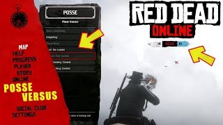 NEW POSSE VERSUS COMPETITIONS IN RED ONLINE - FUN WITH FRIENDS