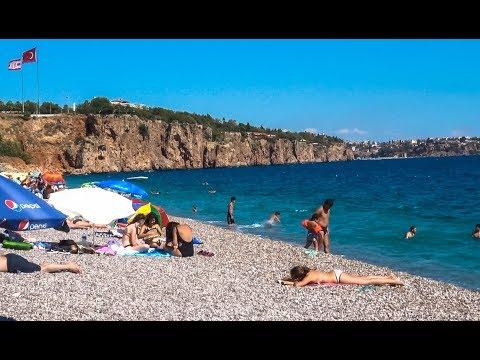 Antalya Beach Turkey September 2017