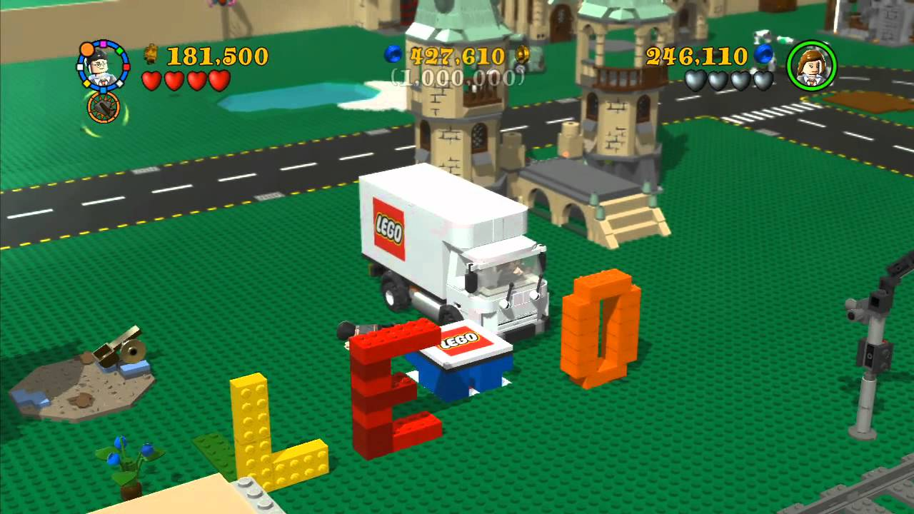 Lego Harry Potter Years 5 7 Co Op Bonus Level With Commentary Youtube