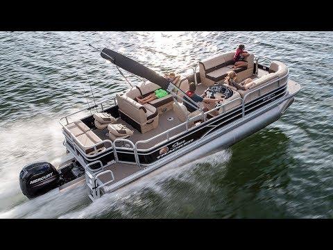 SUN TRACKER Boats Videos SportFish 22 XP3