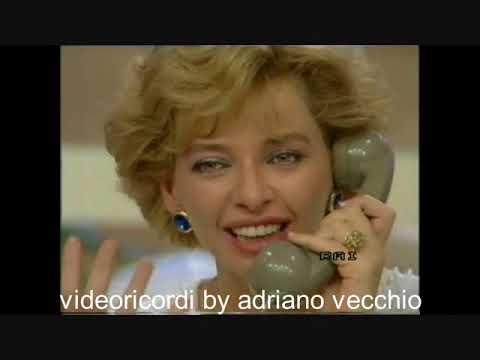 Enrica Bonaccorti al telefono con Domenico Modugno 7/10/1985 a Pronto chi Gioca?