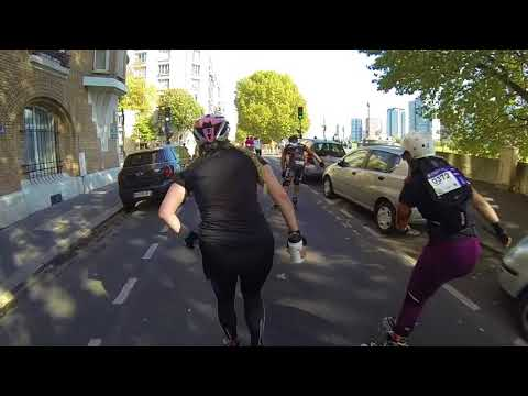 Paris Rollers Marathon   Rollerblade International No. 1 / Oktober 2017