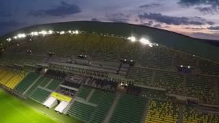 la Beaujoire FC Nantes 1er terrain de ligue 1 équipé en led