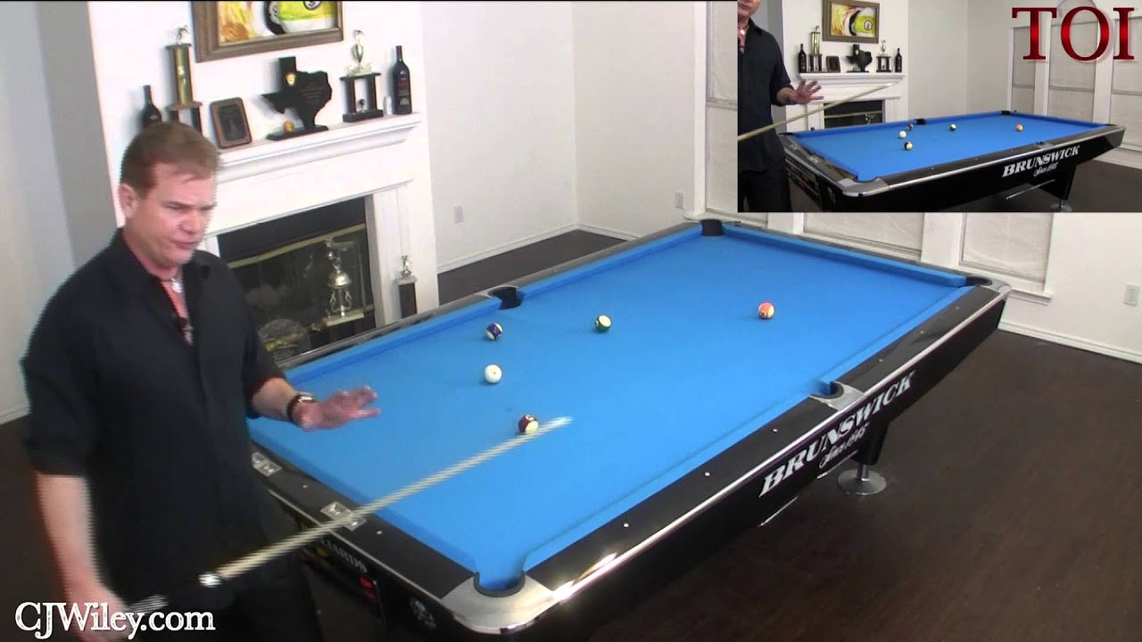 ESPN World Pool Champion Beats the 15 Ball Ghost Using the TOI Billiards  System. - YouTube