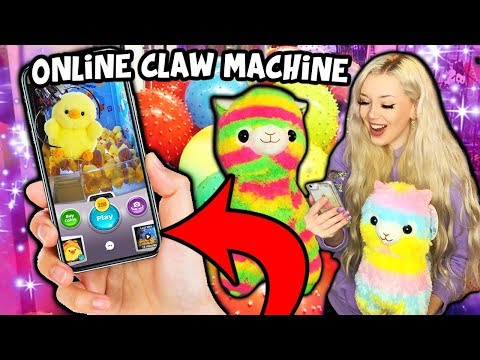 I PLAYED AN ONLINE CLAW MACHINE APP & WON REAL PRIZES!!!