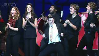 Bed Intruder Christmas Carol song-Liberty University (LU) 2010 Christmas Coffeehouse