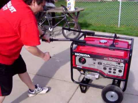 Honda eb 5000x generator youtube - Generador electrico precios ...