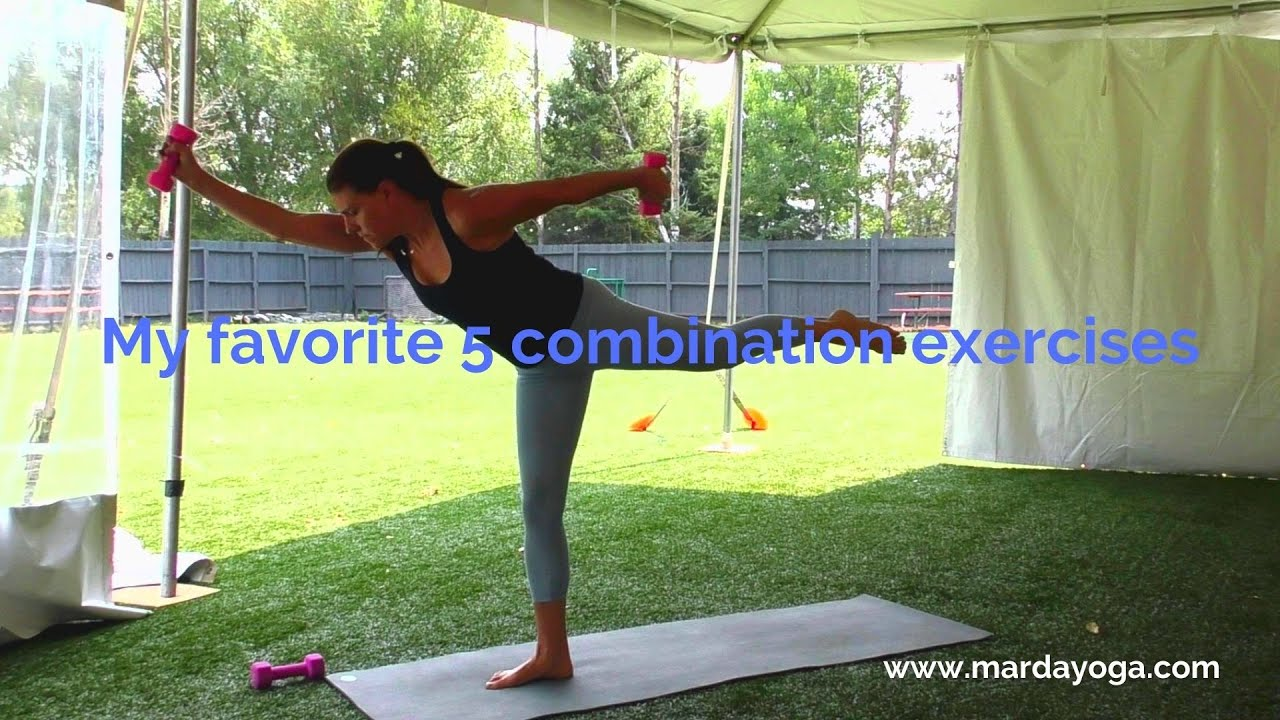 Five amazing combination exercises