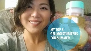 My Top 3 Favorite Gel Moisturizers | Beauty Blossom Thumbnail