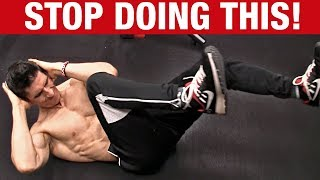 Stop Doing Abs Like This!  Save A Friend