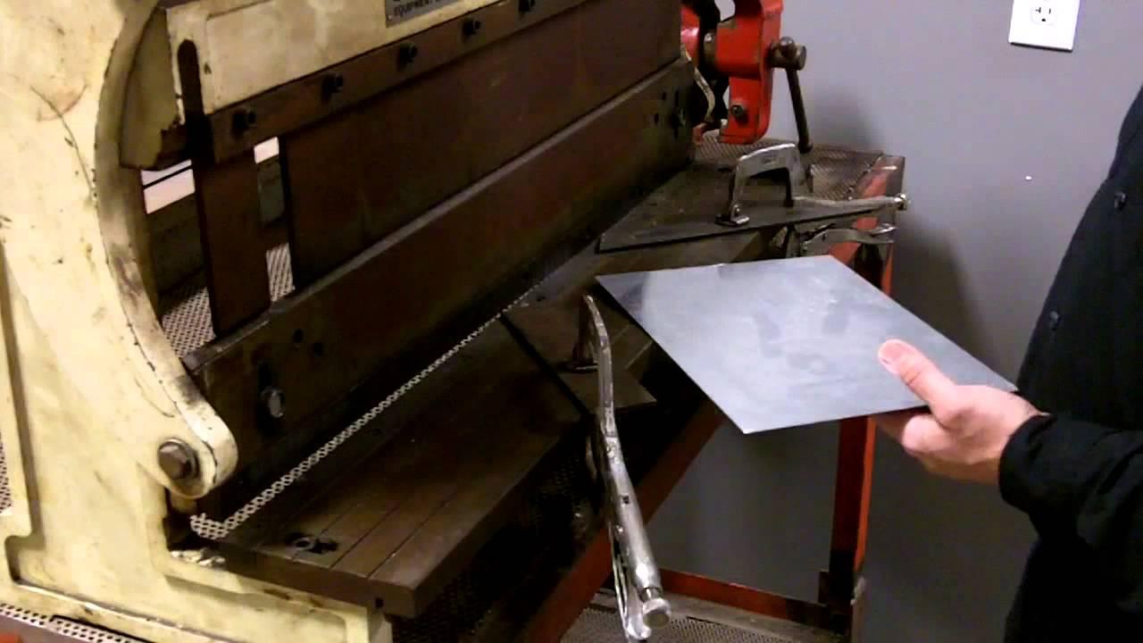 sheet metal fabrication tools. video #13 of 17 sheet metal fabrication equipment tools e